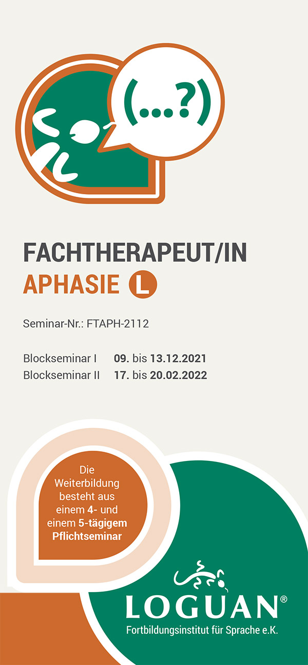 Loguan Flyer Aphasie